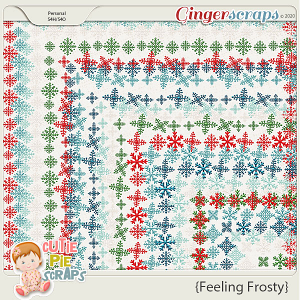 Feeling Frosty Page Borders