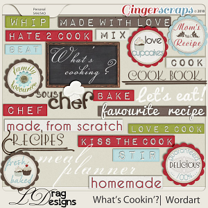 What's Cookin'?: Wordart by LDragDesigns