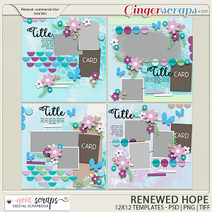 Renewed Hopes - Templates - by Neia Scraps