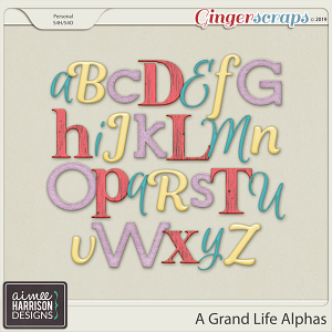 A Grand Life Alpha Sets by Aimee Harrison