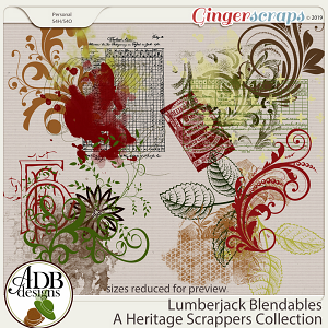 Lumberjack Blendables by ADB Designs