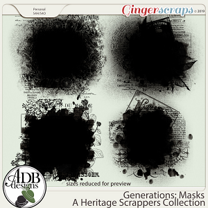 Generations Masks by ADB Designs