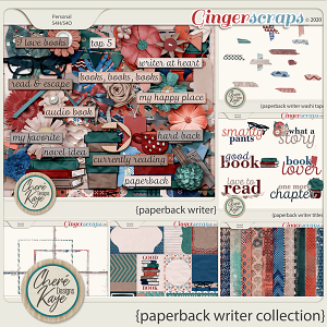 Paperback Writer Collection by Chere Kaye Designs