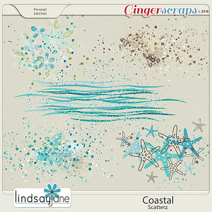 Coastal Scatterz by Lindsay Jane