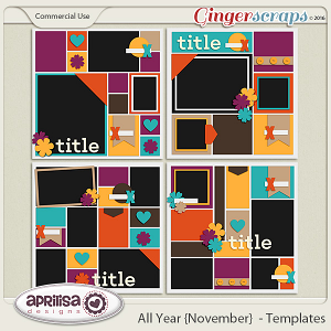 All Year {November} - Templates