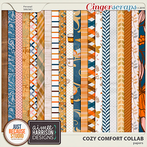 Cozy Comfort Papers by JB Studio and Aimee Harrison Designs