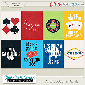 Ante Up Journal Card Pack