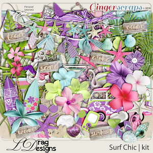 Surf Chic by LDragDesigns