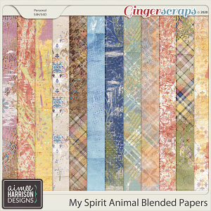 My Spirit Animal Blended Papers by Aimee Harrison