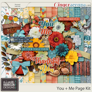 You and Me Page Kit by Aimee Harrison