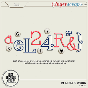 In A Day's Work Alphas by JB Studio