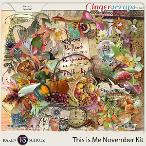 This is Me November Kit by Karen Schulz