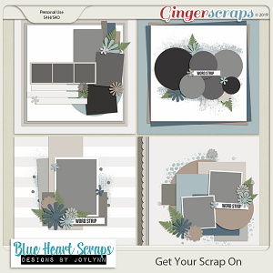 Get Your Scrap On Template Pack