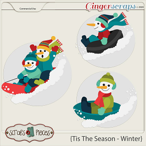 Tis The Season - Winter CU - Scraps N Pieces