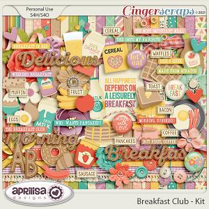 Breakfast Club - Kit by Aprilisa Designs
