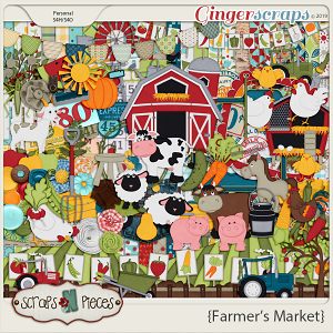 Farmer's Market kit by Scraps N Pieces