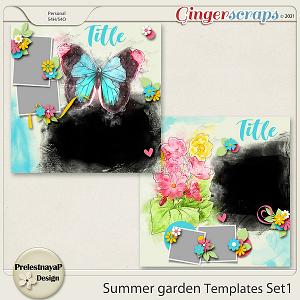 Summer garden Templates Set1