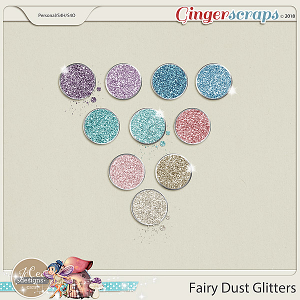 Fairy Dust Glitters by JoCee Designs