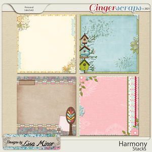 Harmony Stacks from Designs by Lisa Minor