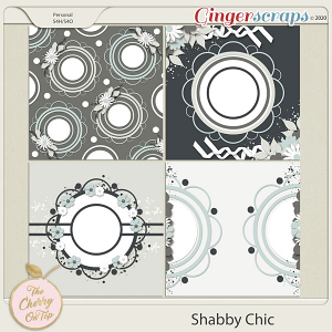 The Cherry On Top:  Shabby Chic