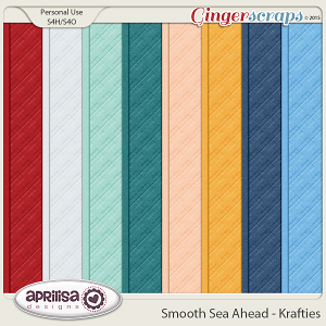 Smooth Sea Ahead - Krafties by Aprilisa Designs
