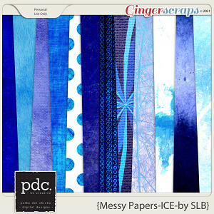 Messy Papers (ICE) (by Shelby)