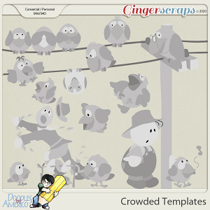 Doodles By Americo: Crowded Templates