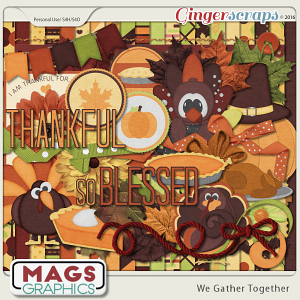 We Gather Together KIT by MagsGraphics