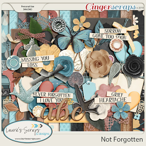 Not Forgotten Page Kit