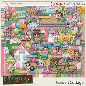 Garden Cottage by BoomersGirl Designs