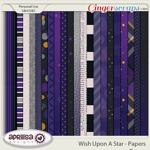 Wish Upon A Star - Papers by Aprilisa Designs