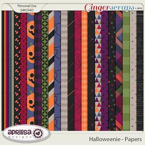 Halloweenie - Papers by Aprilisa Designs