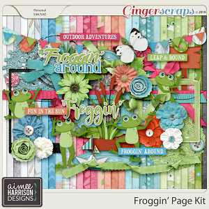 Froggin' Page Kit by Aimee Harrison