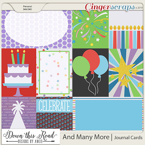 And Many More | Journal Cards