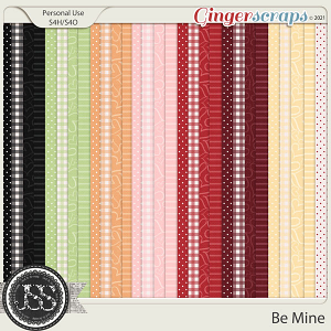 Be Mine Pattern Papers