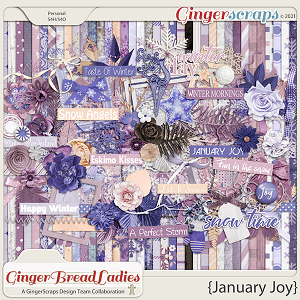 GingerBread Ladies Collab: January Joy