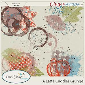 A Latte Cuddles Grunge