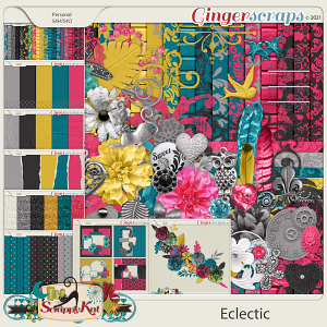 Eclectic Bundle by The Scrappy Kat