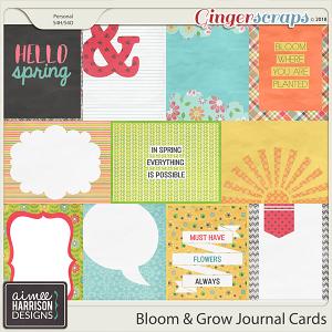 Bloom & Grow Journal Cards by Aimee Harrison