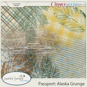 Passport Alaska Grunge