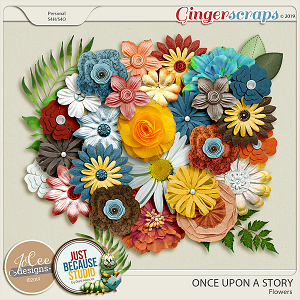 Once Upon A Story Collab - Flowers by JB Studio and Jocee Designs
