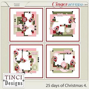 25 days of Christmas 4.