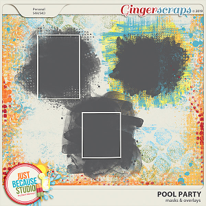 Pool Party Masks & Overlays by JB Studio