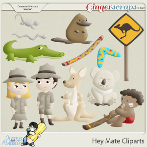 Doodles By Americo: Hey Mate Cliparts
