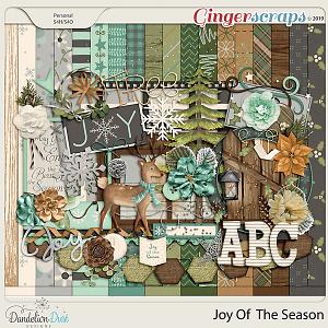 Joy Of The Season Digital Scrapbook Kit by Dandelion Dust Designs
