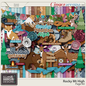 Rocky Mt High Page Kit by Aimee Harrison