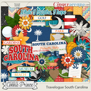 Travelogue South Carolina - Kit