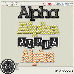 Little Spooks Alphabets