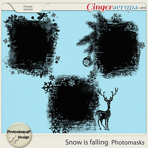 Snow is falling Photomasks