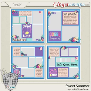 Sweet Summer by Dear Friends Designs by Trina